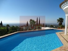 House 3 bedrooms detached villa with pool and sea view, in Estoi-pool with sea view and field%1/21