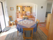 House 3 bedrooms detached villa with pool and sea view, in Estoi-dining room and living room%17/21