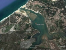 Land in front of Obidos Lagoon%6/6