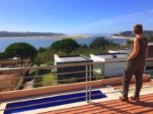Villa in Foz do Arelho - ocean and lagoon viwes%1/18