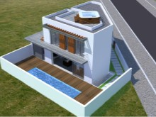 3D House in Baleal%4/8