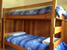 Bedroom with 2 sets of bunks%9/9