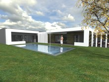 Villa V4 + 1, in plant, with pool, contemporary architecture-Ashton under Lyne | 4 Bedrooms + 1 Interior Bedroom | 4WC