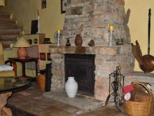 Beautiful fireplace in sitting room%14/26