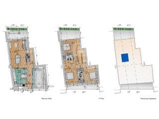 4 Pièces Maison Mitoyenne Faro (Sé e São Pedro) - Acheter
