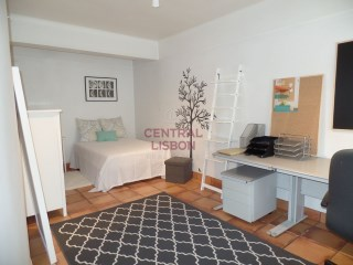 Studio apartment furnished with equipped kitchen-Carnide-apartments | 0 Bedrooms | 1WC