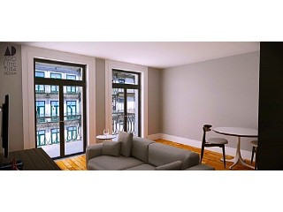 Apartment T0 in the downtown of Porto city, near to the mythical Coliseum | 0 Bedrooms | 1WC