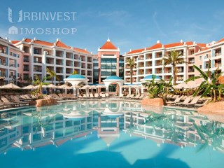 5* Hilton Resort Luxury Penthouse T1 Apartment South Facing Vilamoura, Algarve