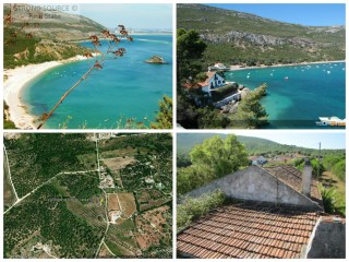 For sale property with 20 ha in Arrabida Natural Park, along the road to the beaches and the Portinho Arrábida, 10 minutes from the beaches, with old house with about 170 m2 and possibility of construction of 330 m2 for turisno nature or just construction up to 500 m2 of Nature Tourism. |
