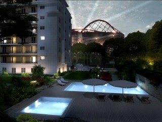 Penthouse T5 in Lisbon next to the stadium of light | 5 Antall Soverom | 4WC