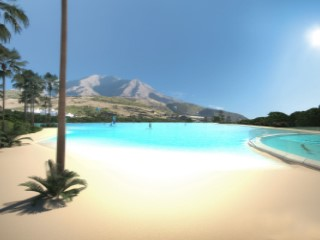 Amazing complex with crystal clear lagoon in Casares Costa | 2 Bedrooms | 2WC