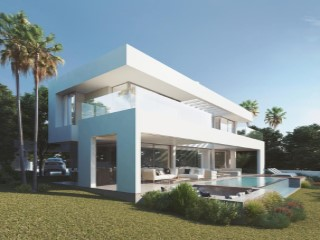 Villas of contemporary design with 4 bedrooms in Casares costa | 4 Bedrooms | 6WC