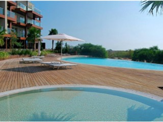 Inserted in the 'Troia Resort' T2 bedroom apartment