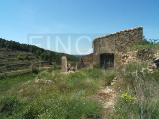 FINCA IN CASERES AREA WITH STONE BUILDING TO  RESTORE |