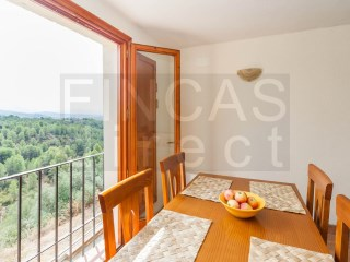PRIORAT: ATTRACTIVE REFURBISHED TOWNHOUSE IN EL MOLAR, SUPERB VIEWS, TERRACE | 3 Bedrooms | 1WC