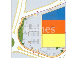 Plot of land with 9,640 m2 for building commercial ships |
