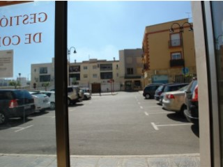 Commercial premises in the commercial heart of Vera. |