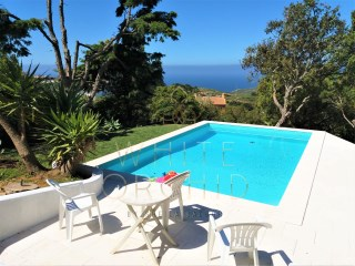 T3+1 House with five star T2 Cottage, heated swimming pool, and stunning views of sea and mountains, Sintra | 3 Bedrooms + 1 Interior Bedroom | 4WC