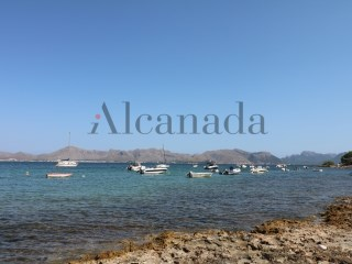 Unique and buildable land is Barcarés, Alcudia beach. |