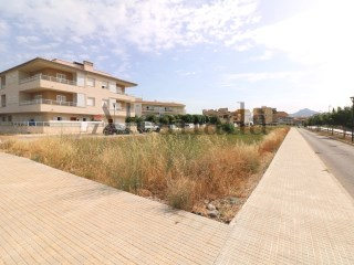 Buildable plot in Puerto de Alcudia. |