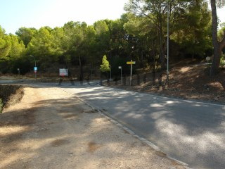 Urban plot in Cala Vinyes, Calvia. |