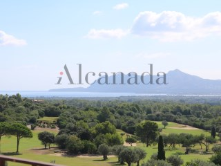 Lot of urban land plots in Pollensa Golf course.