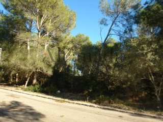 Urban plot for sale in Calvia, Cala Vinyes |