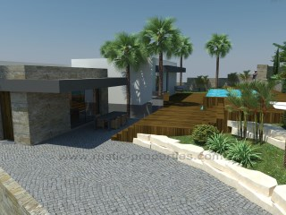 Plot of land with approved project and sea view. RP1271P |