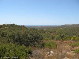 Pot of land for construction near Loulé with sea view! RP379P |
