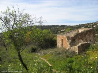 Plot for construction near Loulé with sea views. RP316P |
