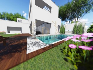 New villa on the beach Ancão | 4 Bedrooms