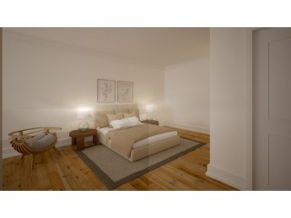 Sale of apartments with total area of 38, 98m2, in the Chiado. | 0 Bedrooms | 1WC