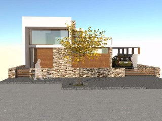 Building plot inserted in a quiet and spectacular development |