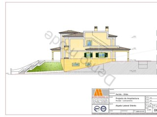 Lot for construction of detached house-Pechão |
