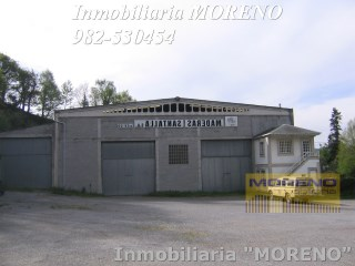 Nave industrial › Sarria |
