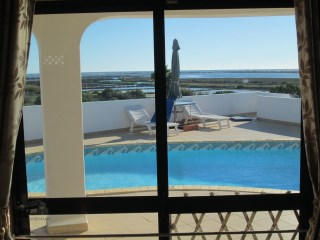 Villa with pool view Ria Formosa and the sea | 3 Sovrum | 2WC