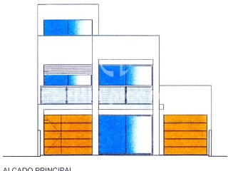 Lot for construction of detached house V4, inserted in urbanization quality in Olhão |