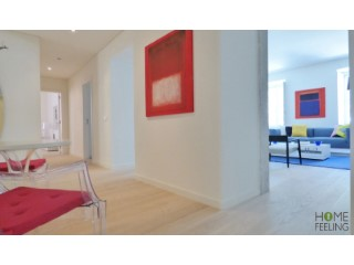Baixa-Chiado Loft T1 118m2 | 2 Bedrooms + 1 Interior Bedroom | 3WC
