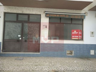 Store near the municipal swimming pools in Olhão |