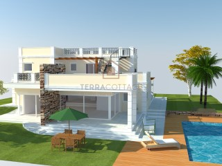 Residential Plot with approved planning for a Villa in Sao Rafael Resort (Albufeira), with Sea Views |