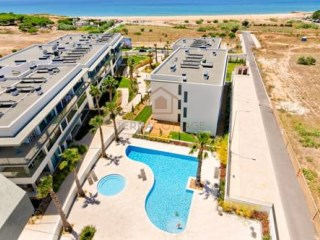 Sea Views, Two Bedroom Apartment, closed condominium, on the beach, in Quarteira | 2 Bedrooms | 2WC