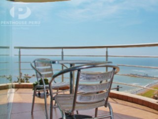 For rent beautiful apartment overlooking the sea front Larcomar Miraflores | 3 Bedrooms | 3WC