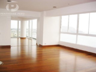 Sale or rental of exclusive luxury apartment overlooking the sea of Miraflores | 4 Bedrooms | 5WC