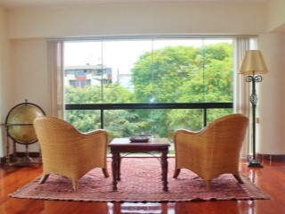 Beautiful apartment for rent in front of Park - San Isidro | 3 Bedrooms | 3WC