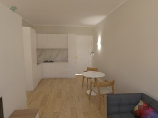 T1 K with garden, low port | 1 Bedroom