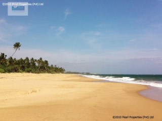 BEACH FRONT BUILDING PLOT/324 PERCHES (SQ.M 8100) |