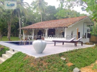 Lake Front Villa with Swimming Pool on 2 Acres( Sq.m 8000) of Land | 2 Bedrooms | 2WC