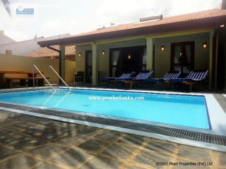 3 Bedroom Beach Villa with a Pool/ Between Galle and Hikkaduwa |