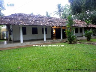 A Traditional colonial 3 Bedroom Villa with Pool at Koggala Lake |