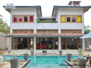 contemporary newly built 4 Bedroom Beach Villa, Galle |